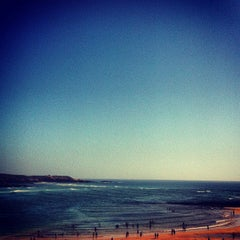Photo taken at Praia de Vila Nova de Milfontes by Emanuele F. on 8/12/2012