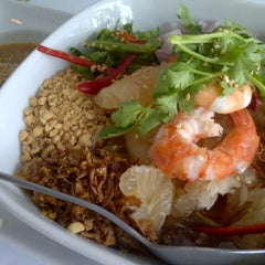 Photo taken at myElephant Thai Restaurant by Koay L. on 7/5/2012