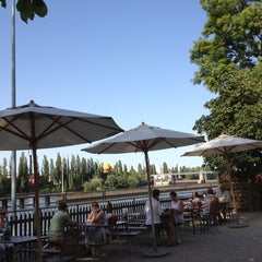 Photo taken at Gerbermühle by Mark M. on 8/19/2012