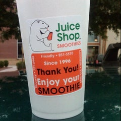 Photo taken at The Juice Shop by Joshua T. on 5/15/2012
