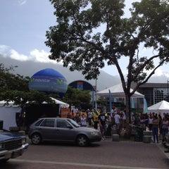 Photo taken at Plaza Alfredo Sadel by Irene C. on 6/9/2012