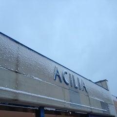 Photo taken at Acilia (Roma-Lido) by Federico on 2/4/2012