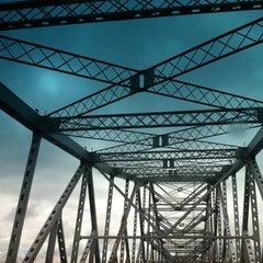Photo taken at Tappan Zee Bridge by Faith A. on 8/10/2012