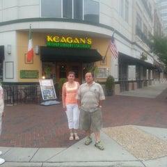 Photo taken at Keagan's Irish Pub and Restaurant by Lina M. on 8/18/2012