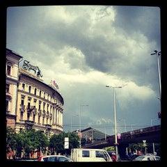Photo taken at Nyugati tér by Akos Hope T. on 5/23/2012