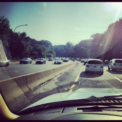 Photo taken at Northern State Parkway by Shayne M. on 7/26/2012