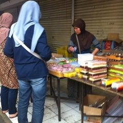 Photo taken at Pasar Kue Tradisional by Reni R. on 8/9/2012