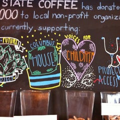 Photo taken at Blue State Coffee by Steve J. on 5/28/2012