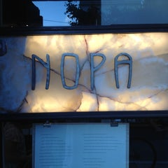 Photo taken at Nopa by Michael D. on 6/27/2012