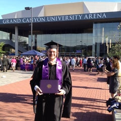 Photo taken at Grand Canyon University Arena by Scott F. on 5/4/2012