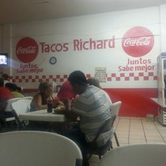 Photo taken at Tacos Richard by Anais M. on 3/16/2014