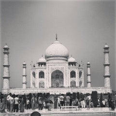 Photo taken at Taj Mahal | ताज महल | تاج محل by Vibhor S. on 3/24/2013