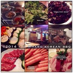 Photo taken at Wharo Korean BBQ by 💕i /@yumyum.in.the.tumtum on 1/10/2014