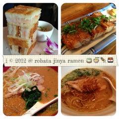 Photo taken at Robata JINYA by 💕i /@yumyum.in.the.tumtum on 12/6/2012