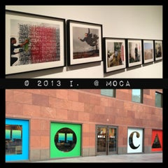 Photo taken at MOCA by 💕i /@yumyum.in.the.tumtum on 1/28/2013