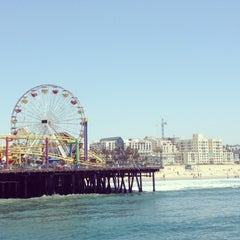 Photo taken at Santa Monica Pier by Simone S. on 5/13/2013