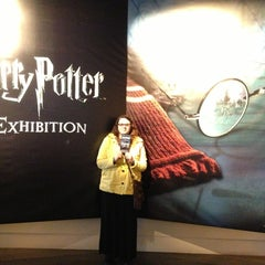 Photo taken at Harry Potter: The Exhibition by Laura F. on 3/18/2013