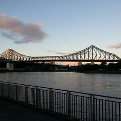 Photo taken at Story Bridge by Steve S. on 5/8/2013