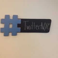 Photo taken at Twitter NYC by John R. on 3/19/2013