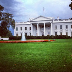 Photo taken at South Lawn - White House by Jori B. on 10/15/2012