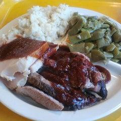 Photo taken at Dickey's BBQ by Meranda C. on 2/12/2014