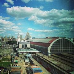 Photo taken at Киевский вокзал / Kievsky Rail Terminal by 🇺🇸Stan S. on 7/17/2013