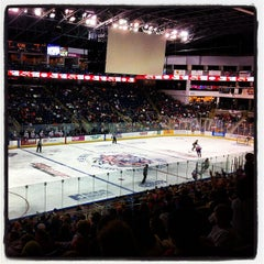Photo taken at Webster Bank Arena by Jamie D. on 11/3/2012