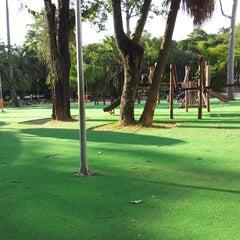 Photo taken at Parque Recanto do Trovador by Claudio M. on 2/23/2013