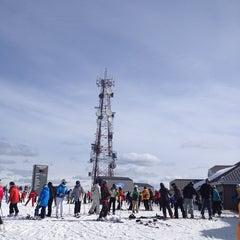 Photo taken at Sommet du Mont-Tremblant Summit by François-Xavier C. on 3/29/2013