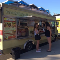 Photo taken at Mandoline Grill Truck by Ruth N. on 8/1/2014