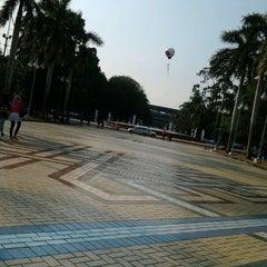 Photo taken at Kompleks Gelora Bung Karno by Adelina P. on 10/13/2012