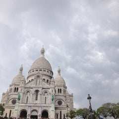 Photo taken at Montmartre by Anastasia on 6/1/2013