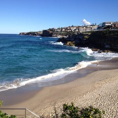 Photo taken at Tamarama Beach by Brad C. on 7/1/2013