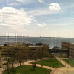 Photo taken at Robert J. Kibbee Library and Media Center by Giovanni T. on 5/13/2013