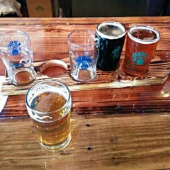 Photo taken at Barrier Brewing Co. by Vizualize on 2/2/2014