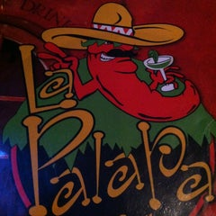 Photo taken at La Palapa Grill & Cantina by Maria Mercedes on 3/23/2013