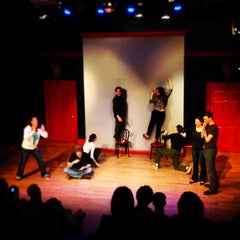 Photo taken at The Peoples Improv Theater by Katie L. on 2/24/2013