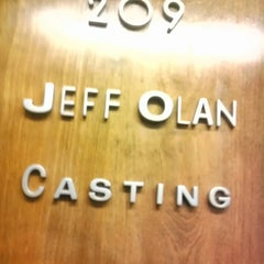 "Photo taken at Jeff Olan Casting by Matthew ""M@tch"" R. on 2/21/2013"