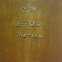 "Photo taken at Jeff Olan Casting by Matthew ""M@tch"" R. on 4/18/2013"