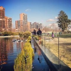 Photo taken at Parque Bicentenario by Joo A. on 7/21/2013