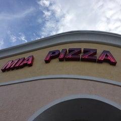 Photo taken at Mia Pizza by David M. on 7/25/2013