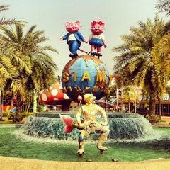 Photo taken at Siam Park City (สยามพาร์คซิตี้) by Mishka V. on 2/1/2013