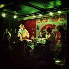 Photo taken at Pianos by LT 1. on 3/1/2013