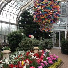 Photo taken at Lewis Ginter Botanical Garden by Rochelle on 12/31/2012