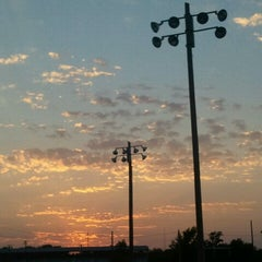 Photo taken at Winfield Fairgrounds by Deb T. on 10/11/2012