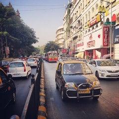 Photo taken at Colaba Causeway by Hamdan on 4/12/2013