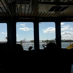 Photo taken at New York Water Taxi - Pier 11, Slip A by Doug K. on 9/15/2012