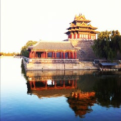 Photo taken at 故宫博物院 Forbidden City by Lorenzo F. on 10/3/2012