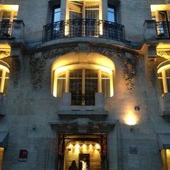 Photo prise au Hôtel Sezz Paris par Kenneth le5/8/2013