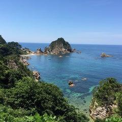 Photo taken at 城原海岸 by lidges on 7/25/2015